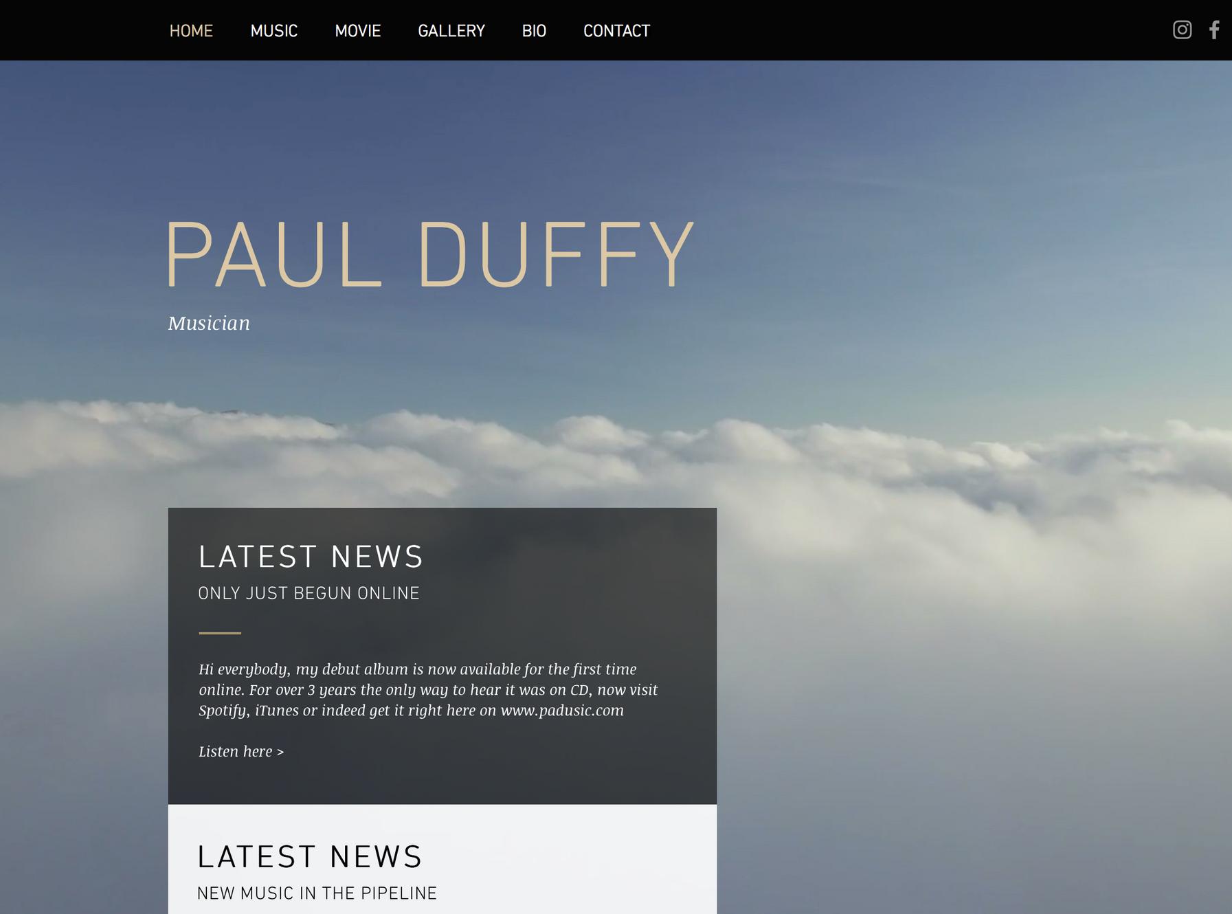 Musician | Paul Duffy