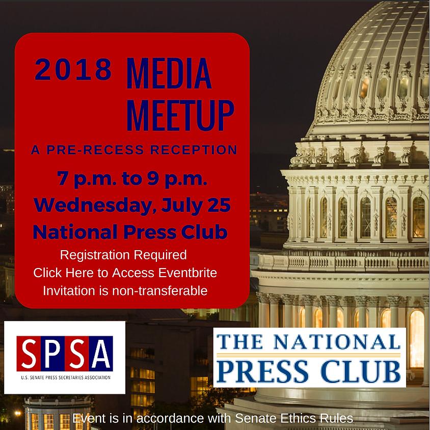 SPSA & National Press Club Pre-Recess Media Meetup