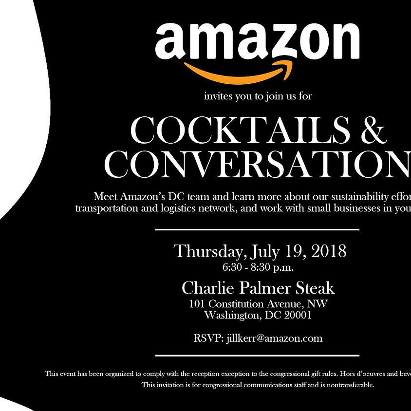 Amazon's Cocktails & Conversations