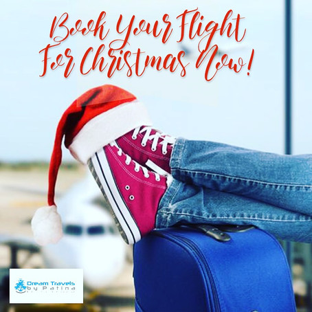 Travel Tip: Book Your Flight For Christmas