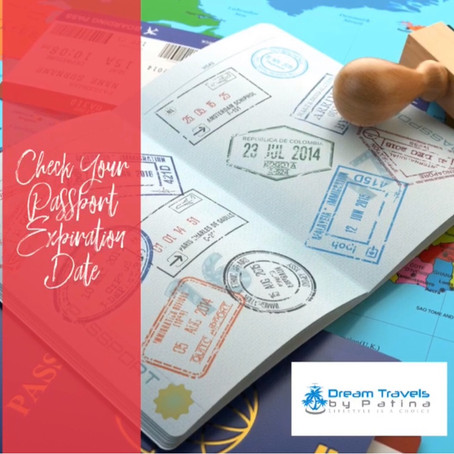 Check Your Passport Expiration Date
