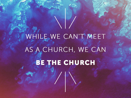 How will we be church?