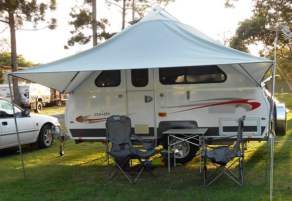 $599 SHADE CANOPY - SC01 suits ALINER, CRUISER, CRUISELINER