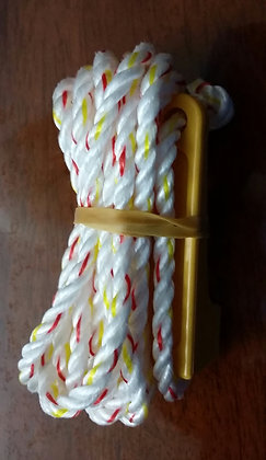 1 x 6MM ROPE WITH GUY ROPE RUNNER