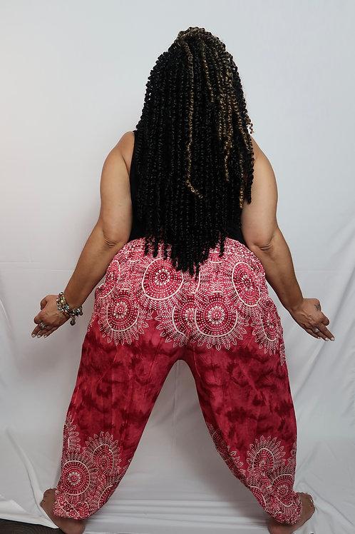 Unisex Plus Size Harem Pants