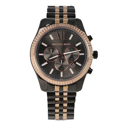 Reloj Michael Kors MK8561 Negro/Oro Rosado Caballero