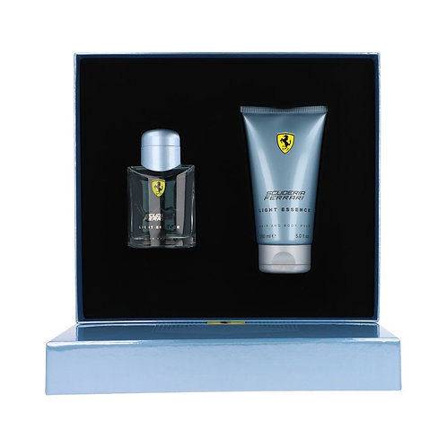 FERRARI LIGHT ESSENCE 2PZS 75ML EDT SPRAY/ SHOWER GEL 150ML