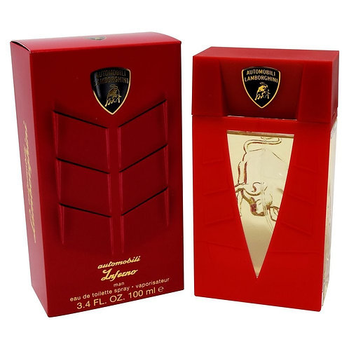 LAMBORGHINI AUTOMOBILI INFERNO MAN 100 ML EDT SPRAY