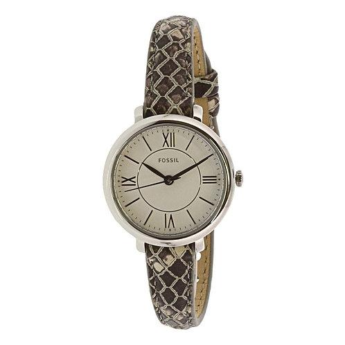 Reloj Fossil ES4635 Café/Beige/Plata Dama