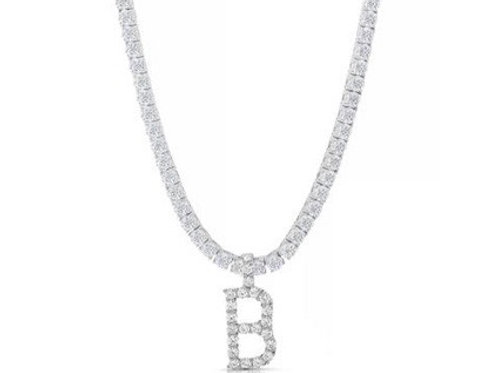 Glitz Initial Necklace