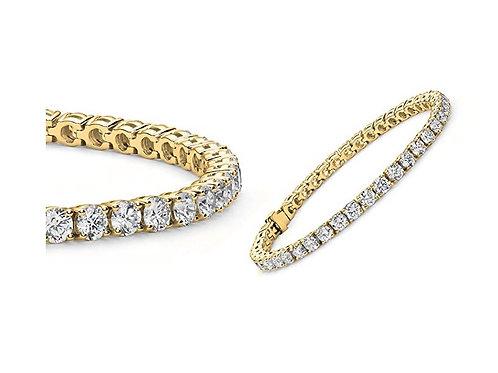 Classic Tennis Bracelet Gold
