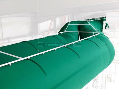 FabricAir Hava Çorabı Sisteminin Tasarımı, Metal Kanal Sisteminden Daha Basit Olabilir mi?
