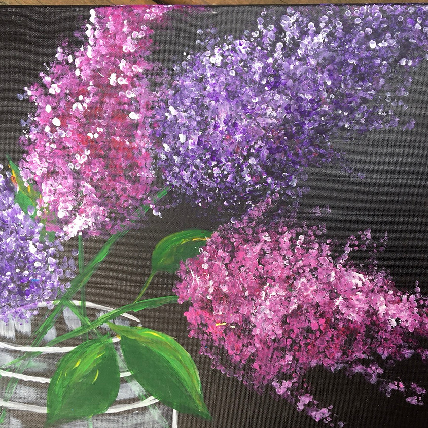 Lilacs on Zoom