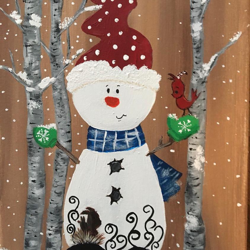 Snowman - Facebook Live