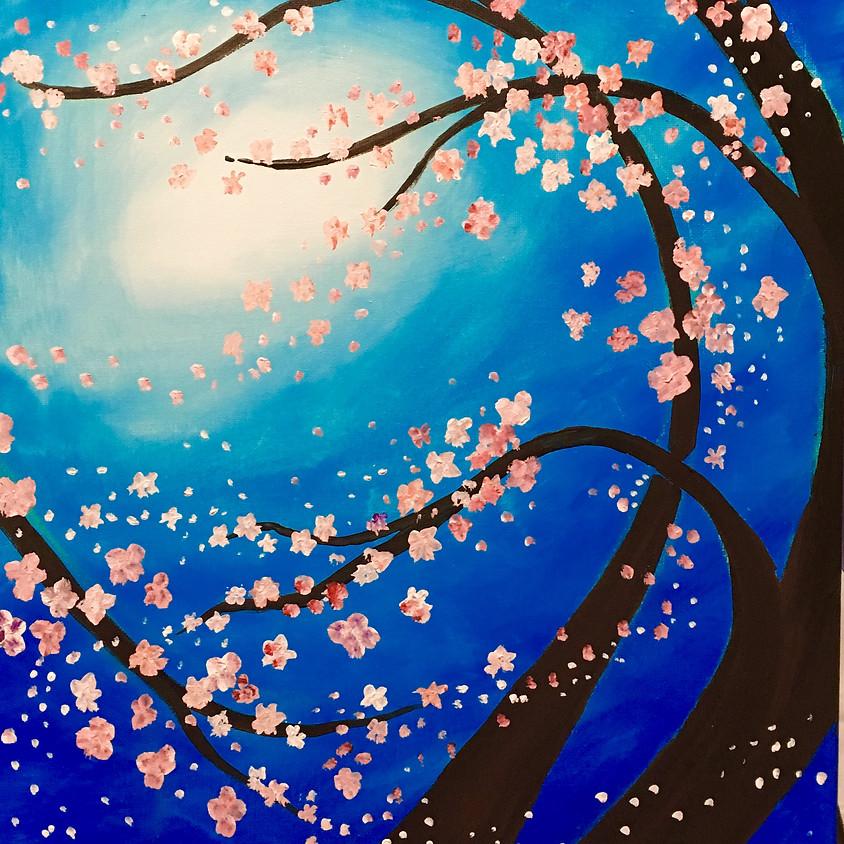 Clik Coffee Bistro - Spring Blossoms