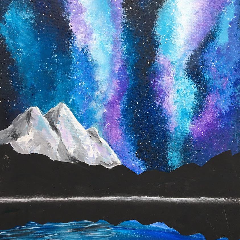Magical Night Sky - Acrylic Painting Class
