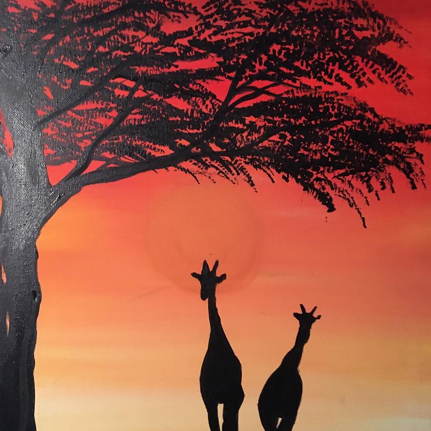African Giraffes - Facebook Live