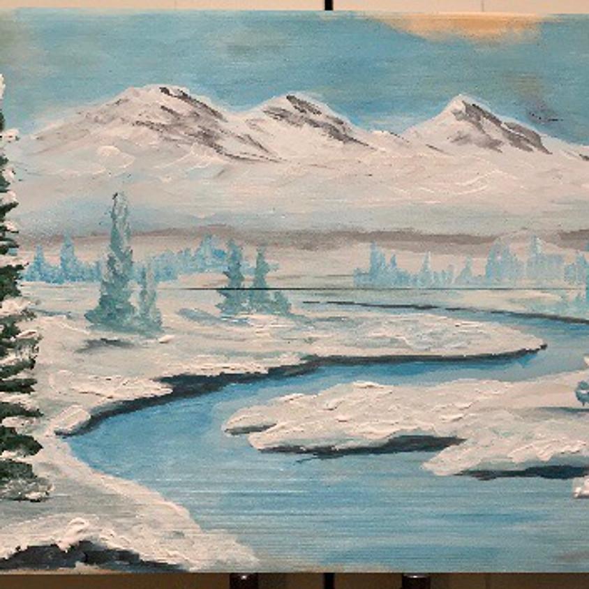 Winter Wonderland - Camvas or Cedar Board - The Legion