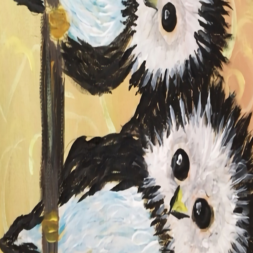 Owl Always Love You- Live Zoom Acrylic Paint Class