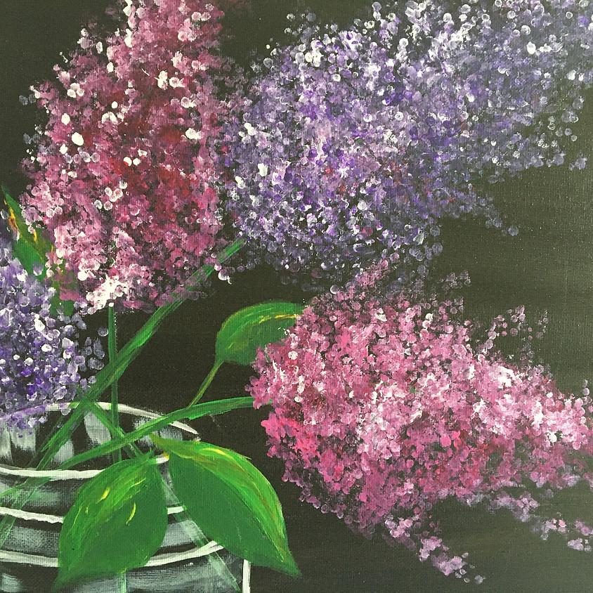 Online Zoom Class - Lilacs