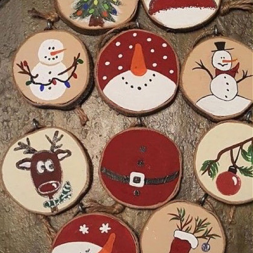 Wood Ornaments - 3 Dogs Brewing