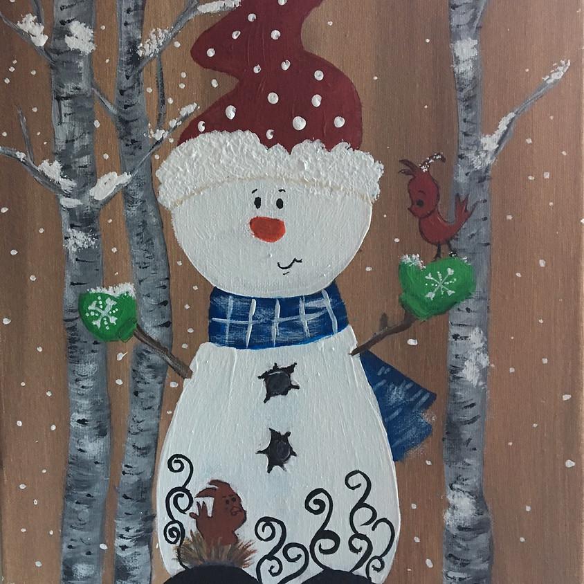 Snow Day Snowman - The Bennett