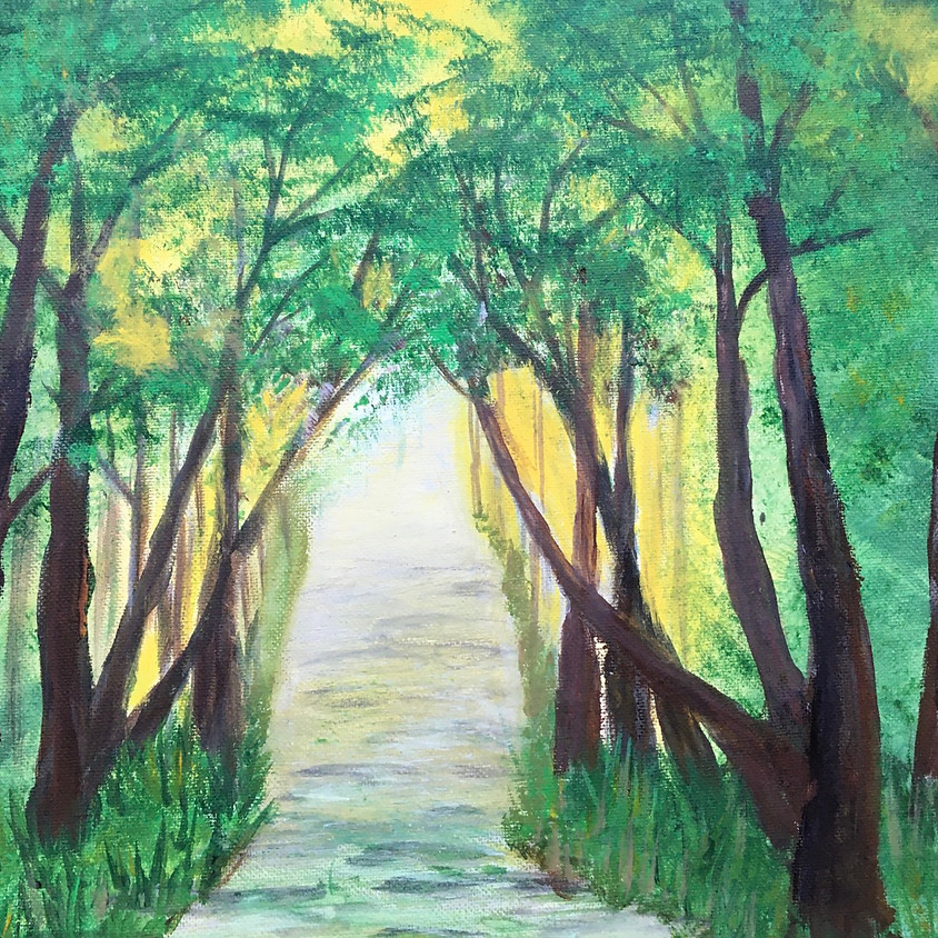 Facebook Live - Forest Pathway