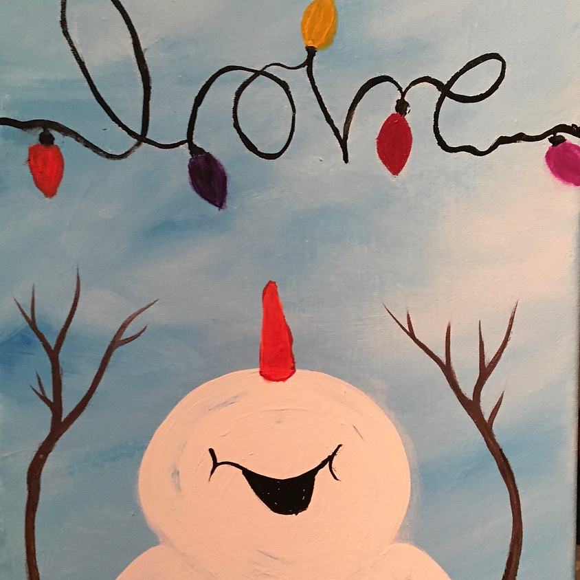 Snowman Love on Facebook Live - Family Event