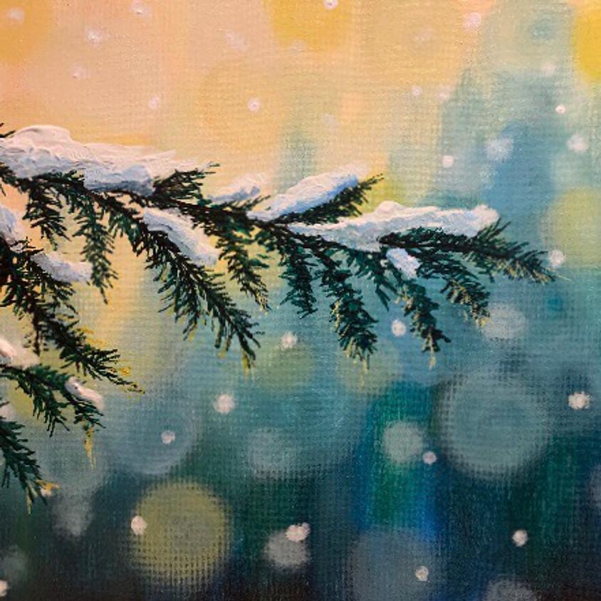 Snowy Branch - Creo Arts