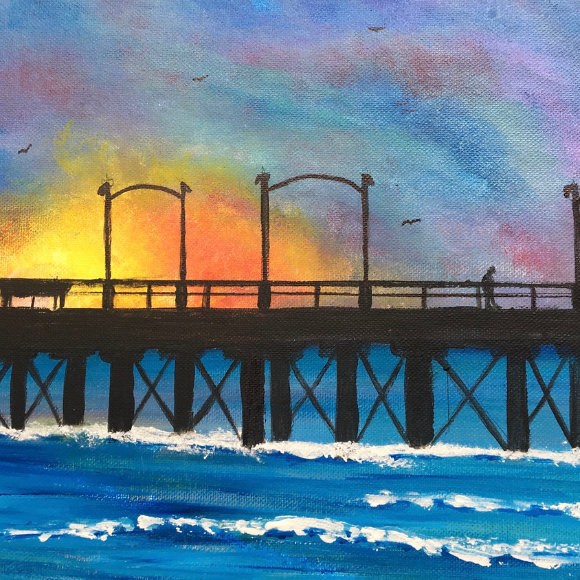 Paint Night at The Museum - The Pier