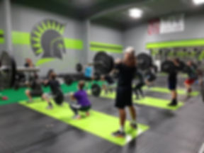 Front squats as far as the eye can see ?