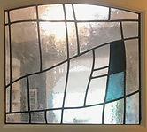 Bellman Stained glass door 3 Leigh Schel
