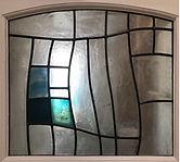 Bellman Stained glass door Leigh SChelle