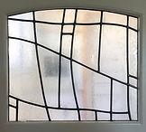 Bellman door 2 stained glass Leigh Schel