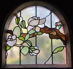 Blossom Leadlight Leigh Schellekens