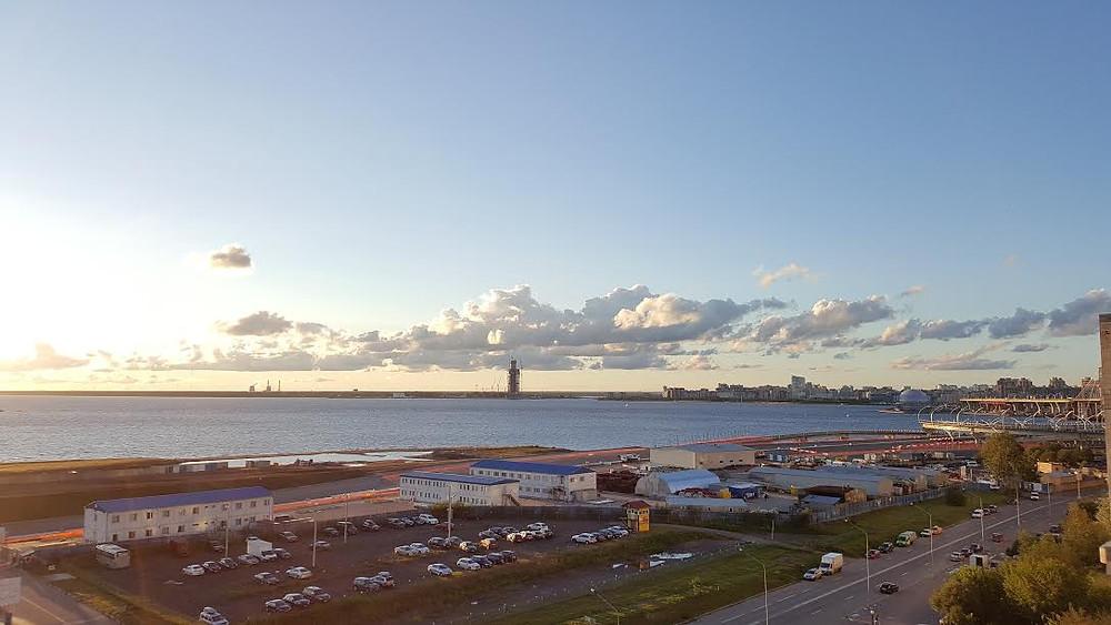 מפרץ פינלנד, מראה עוצר נשימה בכל בוקר מחדש