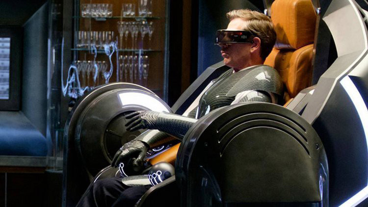 Image from Ready Player One on Haptic Suits