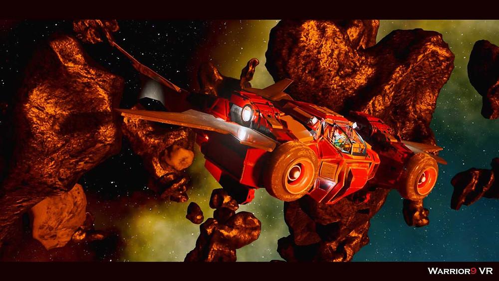 Mercury 48 spaceship
