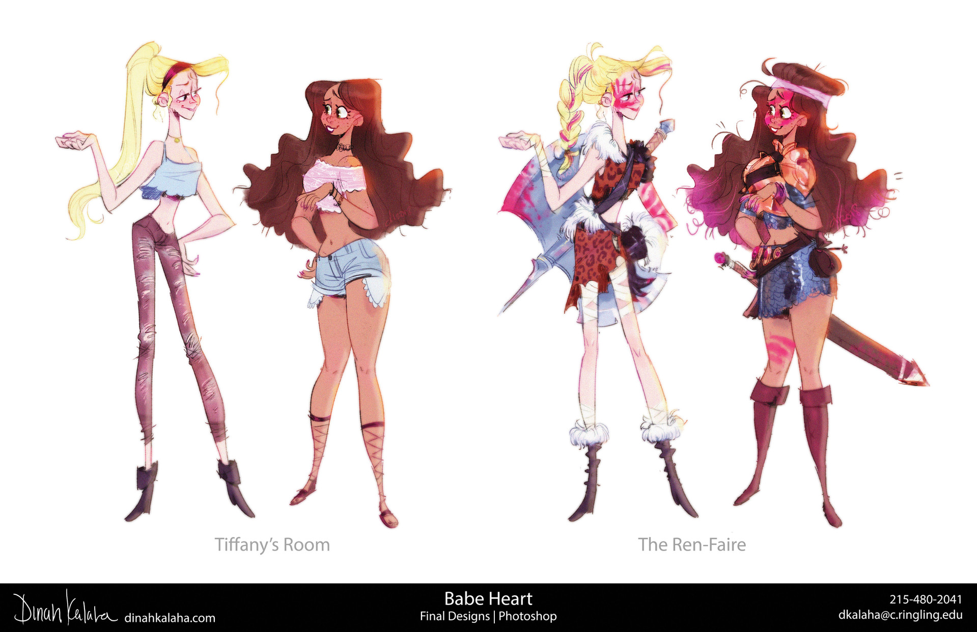 Final Character Designs