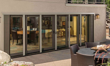 retractable screens for bi-folding doos