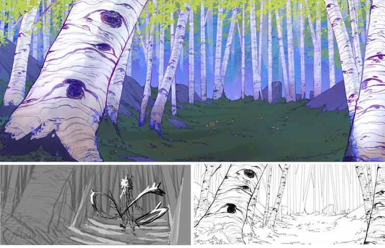 Blackthorn Summer Forest Breakdown