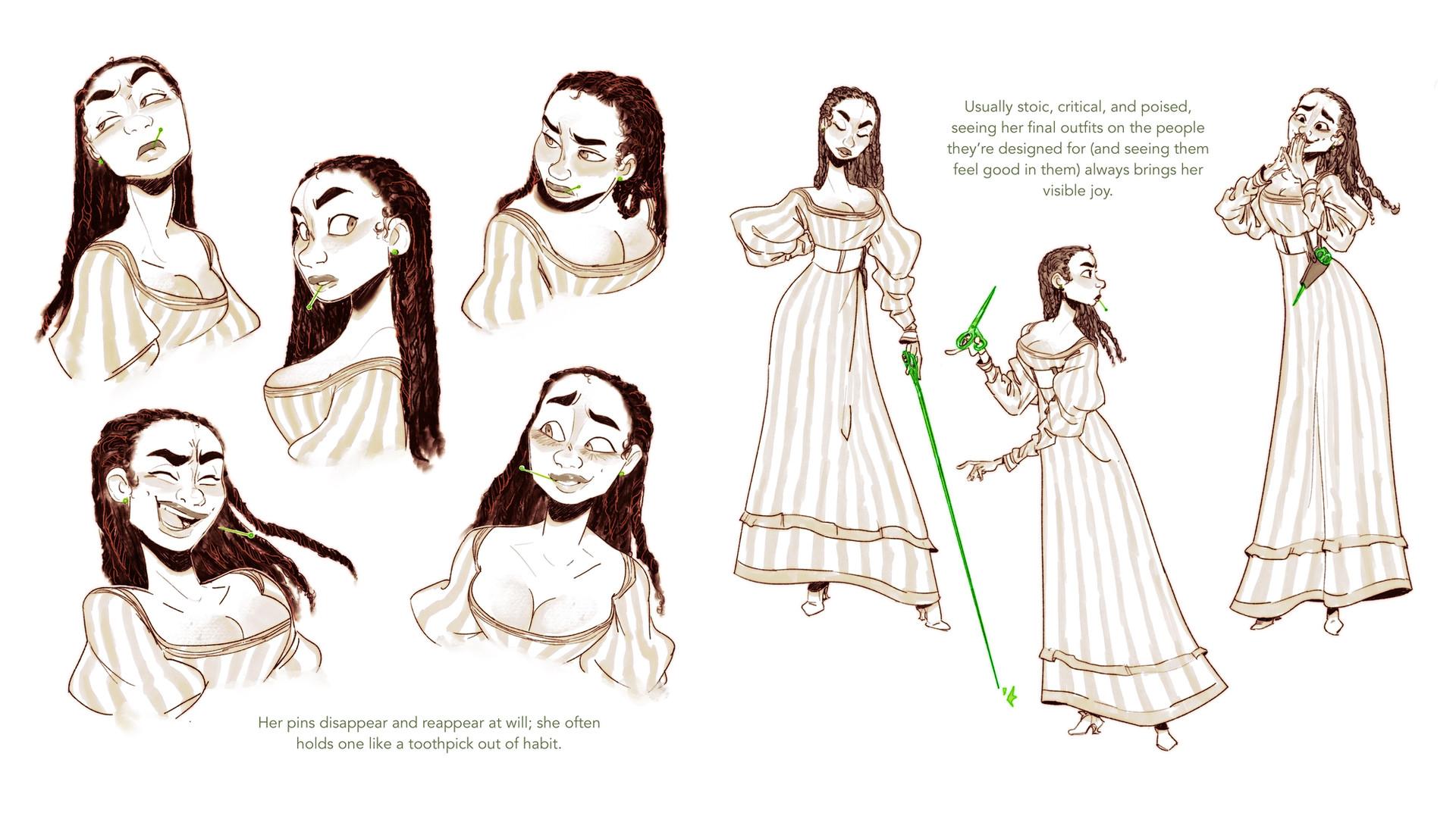 Deja The Immortal Seamstress Expressions & Posing