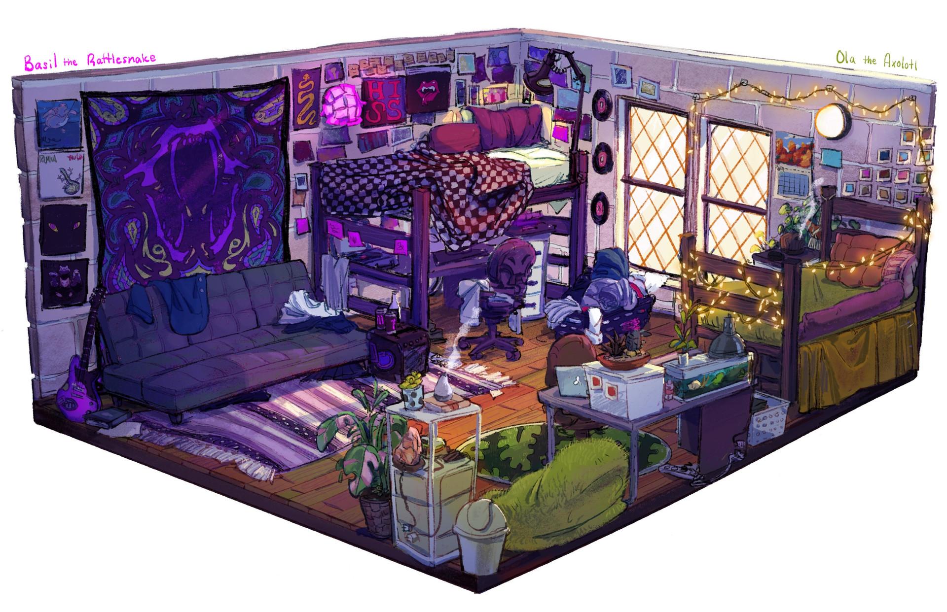Basil & Ola's Dorm