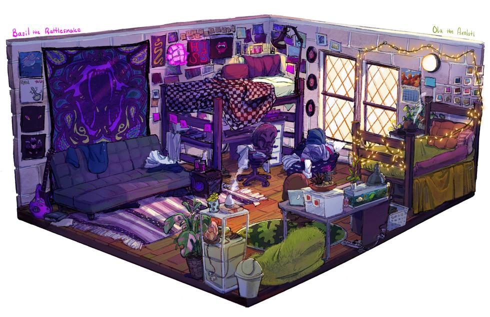 Basil & Ola's Room