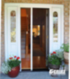 Genius sheer classic retractable screen door