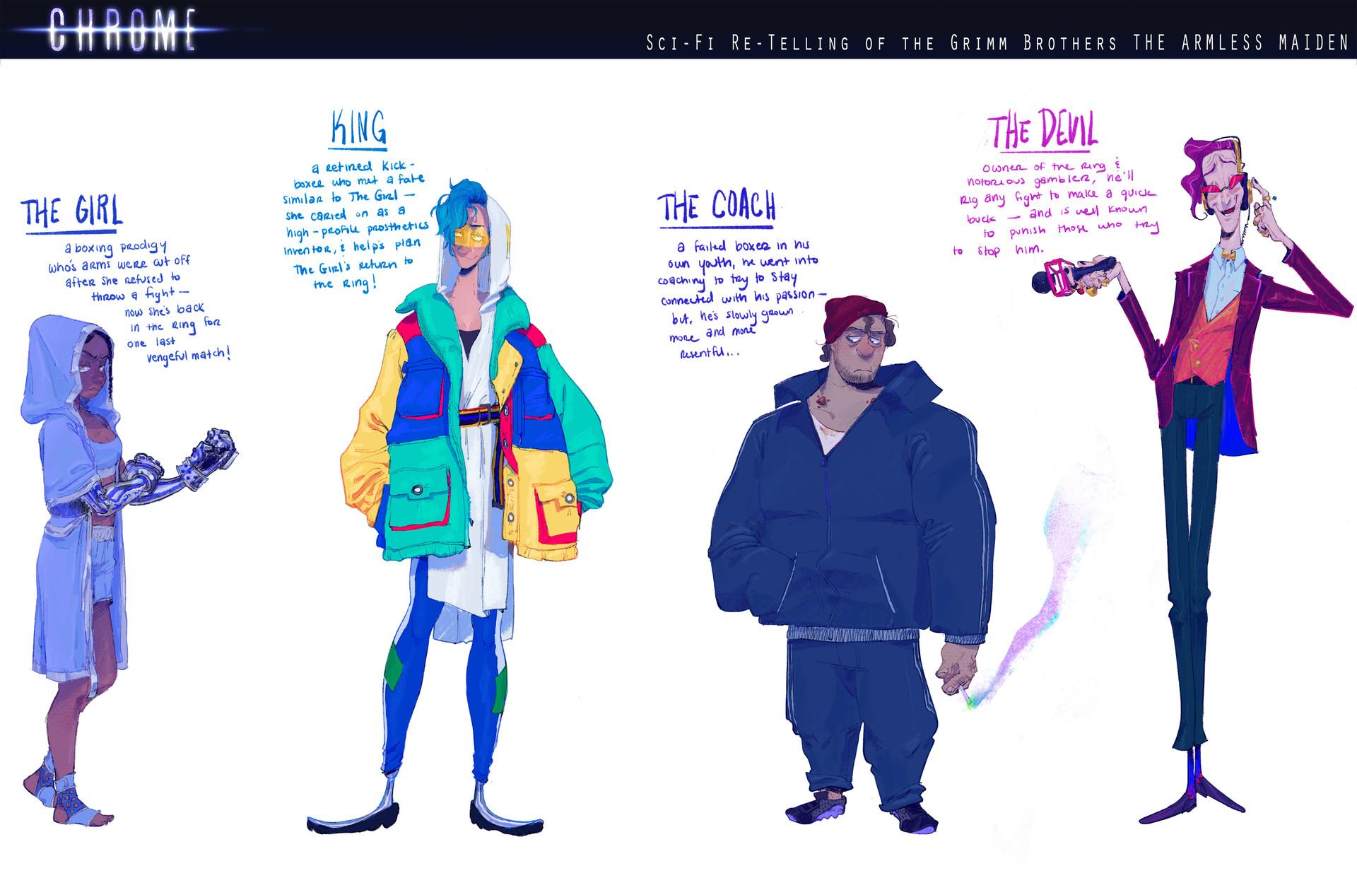 CHROME Characters