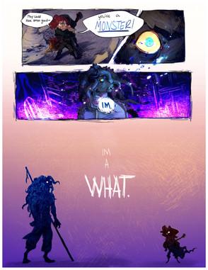 Monster: Iris Campaign Comic