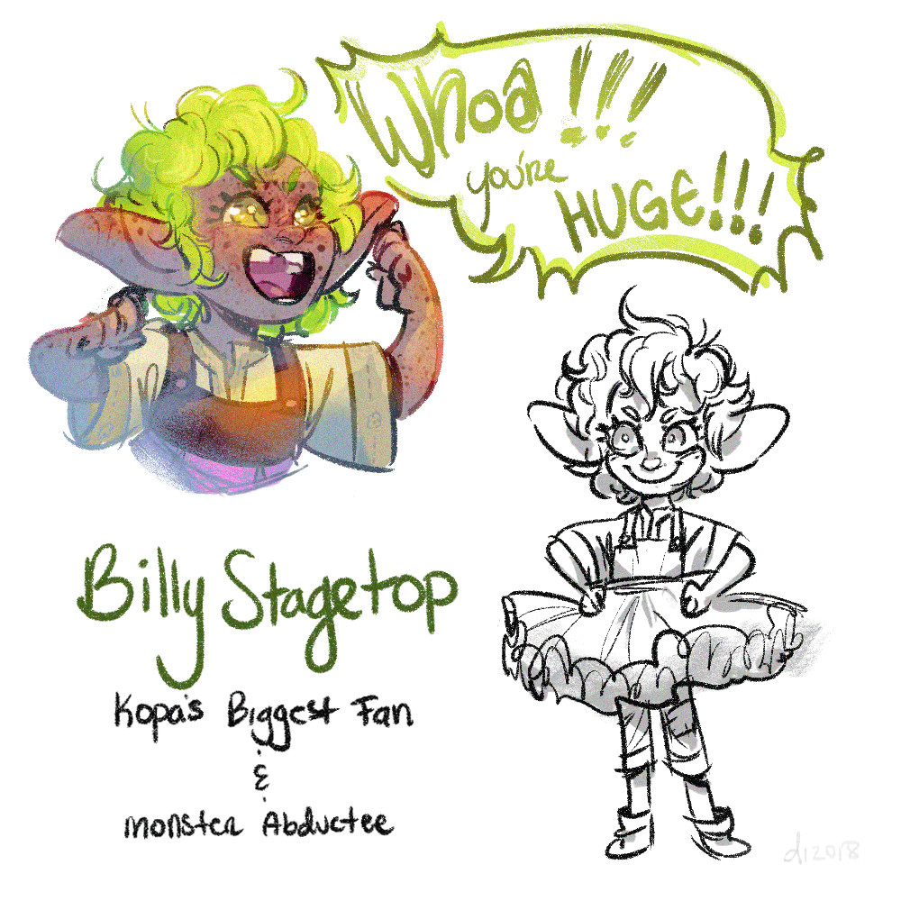 Billy Stagetop