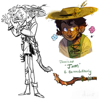 "Jamison ""Jam"" B. Bernedatherly"
