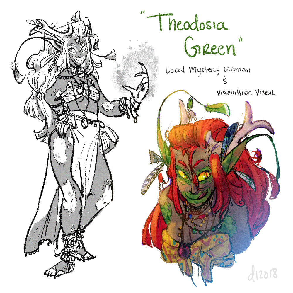 Theodosia Green